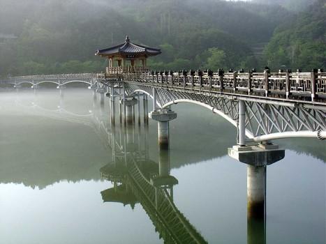Japan: Moon bridge   Wicked!   Scoop.it