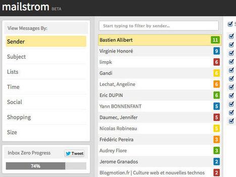 Mailstrom, un outil pour nettoyer facilement vos boites mail | DevisGeneral | Scoop.it