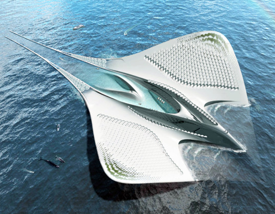Is this Manta Ray-Shaped Floating City the University of the Future?