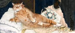 Artists Inserts Her Chubby Cat Into Famous Paintings | Forget Sleep | Scoop.it