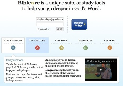 Un super site d'étude de la Bible recherche traducteurs | NotreEglise ... | Let´s Talk to The Bible | Scoop.it