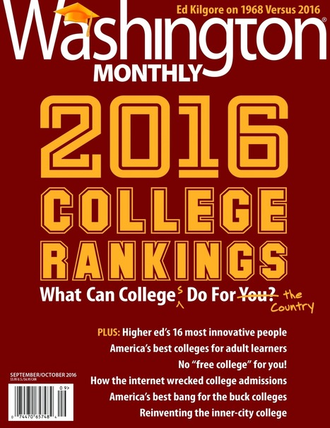 2016 College Guide and Rankings | Educational Miscellanea | Scoop.it