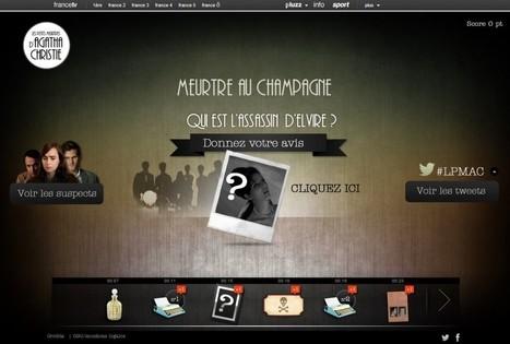Une expérience interactive autour des Petits Meurtres d'Agatha Christie | Nouvelles écritures et transmedia | Scoop.it