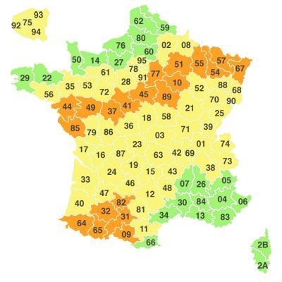 Orages: 14 départements en alerte | Tout le web | Scoop.it