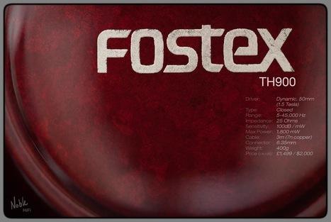 Noble Hi-Fi: Fostex TH900 - review | Fostex | Scoop.it
