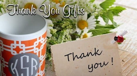 10 Best Thank you Gift Ideas | Best Birthday Planners | Scoop.it