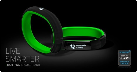 Razer Nabu Smartband Social - Discover Intuitive Interaction | Nouvelles Interactions | Scoop.it