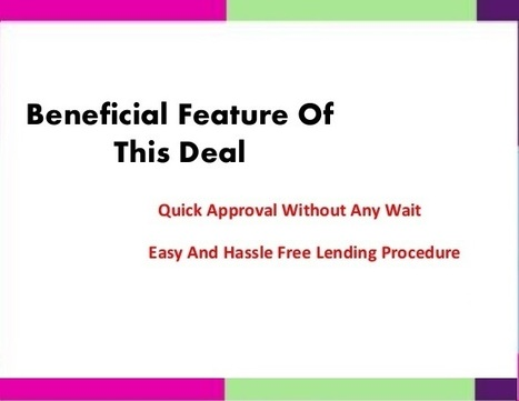 Instant Cash That Completely Free From All Necessary Time Consuming Formalities | Loans no paper work | Scoop.it