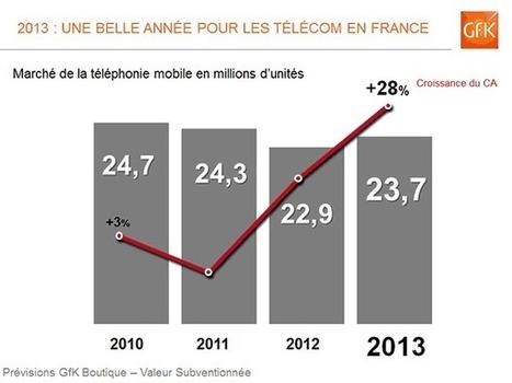 Bilan 2013 des marchés des biens techniques en France | Ressources pour la Technologie au College | Scoop.it