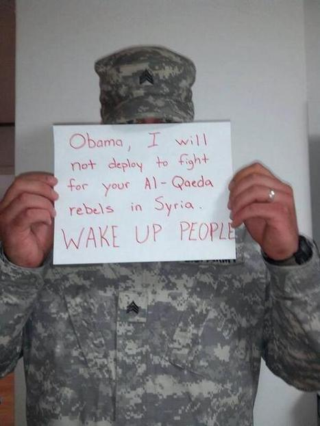 """The U.S. is """"Fighting for Al Qaeda"""" in Syria. 