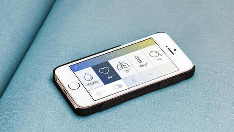 An iPhone Case That Takes Your Vitals | Techno Gadgetry | Scoop.it