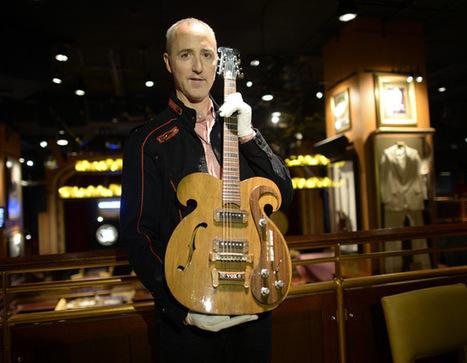 Subastarán guitarra de The Beatles - por Jorge Castillo Díaz   ¡La Rockola!   Scoop.it