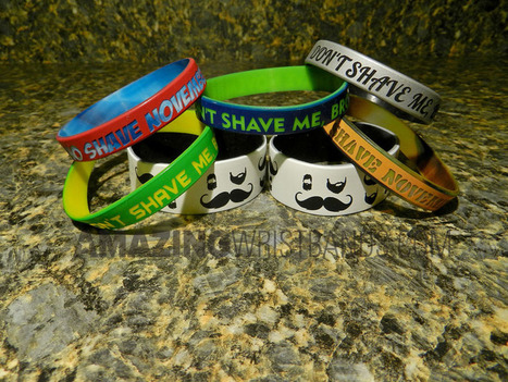 Movember/No Shave November - How To Support | Craze On Wristbands | Scoop.it