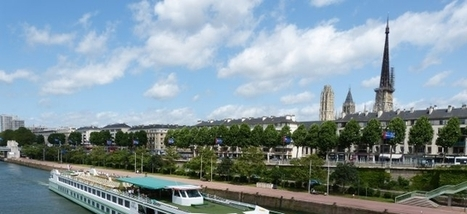 L'Office de tourisme de Rouen (76) mise sur les papilles et les croisières fluviales ...!!!   Etudiante Tourisme   Scoop.it