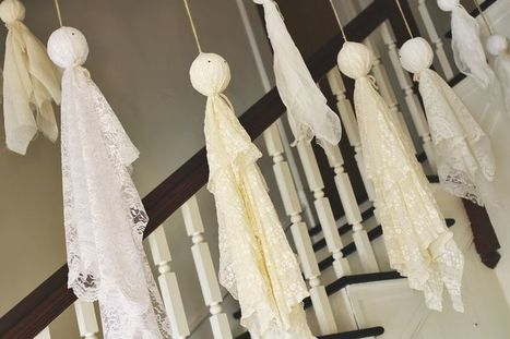 Halloween Ghost Lace Decorations | Fabric Shopping Online | Scoop.it