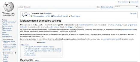 Cómo Crear un eBook Desde Artículos de la Wikipedia | 99 Nuevos Ebooks Gratuitos Sobre Social Media y Marketing en la Biblioteca | Scoop.it