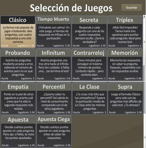 En la nube TIC: Testeando: Un genial trivial Educativo | Prensa EduKtiva | Scoop.it