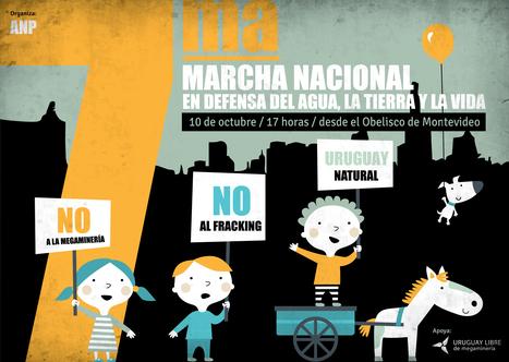 10/10/ 2014 - Marcha Nacional en defensa del Agua, la Tierra y la vida | MOVUS | Scoop.it