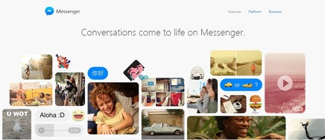 Facebook lance une version Messenger pour le Web - #Arobasenet.com | Référencement internet | Scoop.it