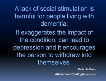 Alzheimer s Caregivers Reap the Benefits of Socialization and Getting Out   Alzheimer's Reading Room   Alzheimer's Help   Scoop.it