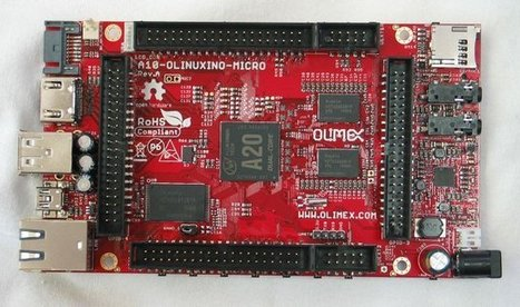 Olimex A20-OLinuXino Prototype, AllWinner A20 SoM In The Work | Embedded Systems News | Scoop.it