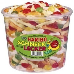 Haribo Lumache 150pz caramelle gommose | Caramelle gommose e dolci | Scoop.it