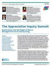 Appreciative Inquiry Practitioner May 2012 - Introduction | Art of Hosting | Scoop.it