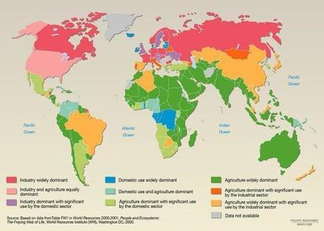 Freshwater use: country profiles - Vital Water Graphics   7 Water in the World   Scoop.it