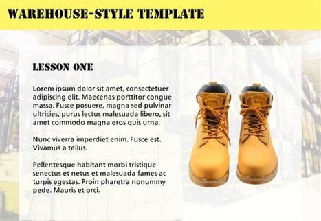Warehouse-Style Template - E-Learning Heroes | Distance Ed Archive | Scoop.it