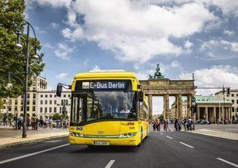 Berlin expérimente une ligne de bus électriques à recharge sans fil | SandyPims | Scoop.it