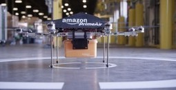 """Amazon unveils """"Prime Air"""" for deliverying packages within 30 minutes using Drones 