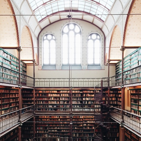 Experience the Beauty of Libraries Around the World Through This Instagram Series | Library world, new trends, technologies | Scoop.it