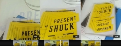 Douglas Rushkoff's Present Shock: The End Of Time Is Not The End Of The World | Designing  service | Scoop.it