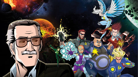 Stan Lee's POW! Entertainment Teams With Hollywood Reporter on New Series 'Cosmic Crusaders' - Celebrity News | GENIUS BRANDS PROPERTY NEWS | Scoop.it
