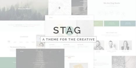 Stag: A WordPress Theme Offering Endless Portfolio Design | Free & Premium WordPress Themes | Scoop.it