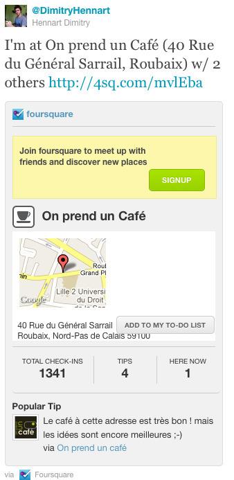 Foursquare, géolocalisation : l'offre s'agrandit | Web 2.0 | Culture(s) transmedia | Scoop.it