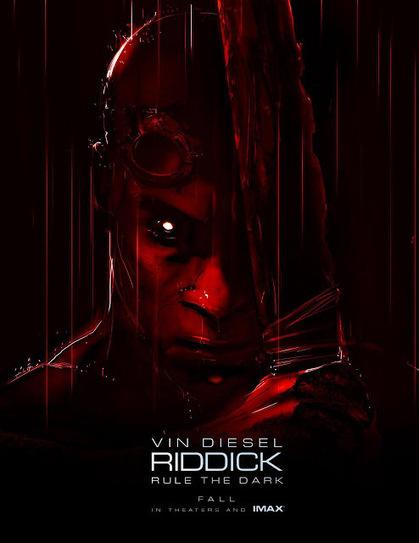 Nuevo póster de 'Riddick' para el Comic-Con 2013 | ESTRENOS DE CINE | Scoop.it