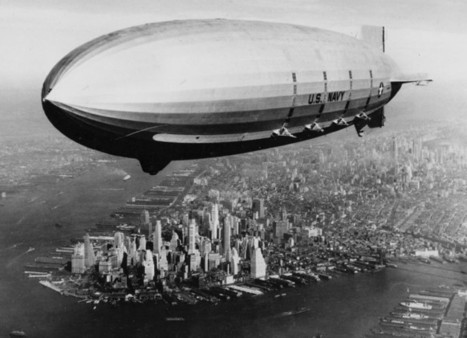 15 Vintage Black and White Photographs of Airships | Public Relations & Social Media Insight | Scoop.it