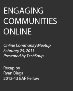 How Arts Organizations Are Engaging Community Online | Arts Administration | Scoop.it