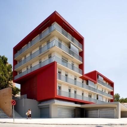 Social Housing Building in Tarragona / Aguilera Guerrero | ArchDaily | vivienda social | Scoop.it