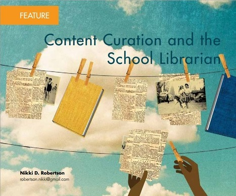 Content Curation for the School Librarian | The Slothful Cybrarian | Scoop.it