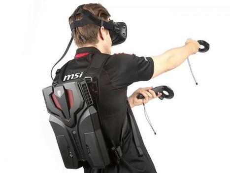 MSI dévoile le VR One, la version finale de leur sac à dos VR | VR & AR News - Usages professionels | Scoop.it