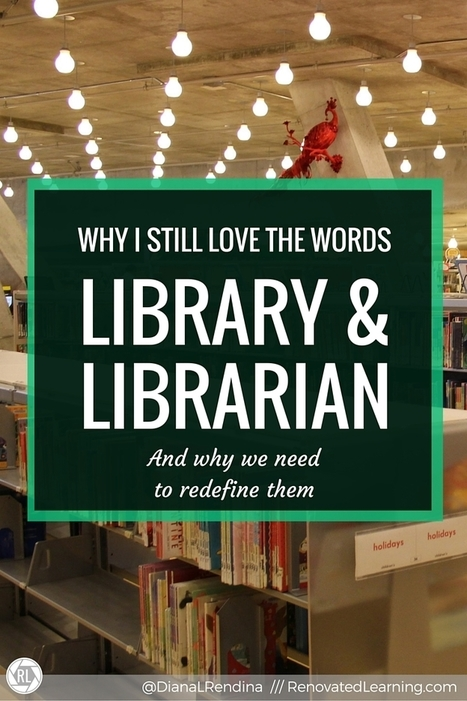 Why I still love the words LIBRARY & LIBRARIAN | Book Week 2016 | Scoop.it