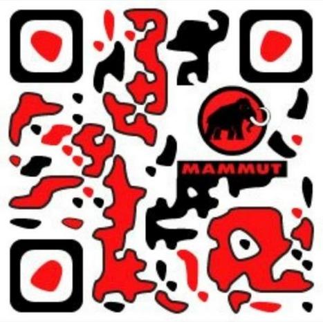 Mammut QR design | E-marketeur dans tous ses états | Scoop.it