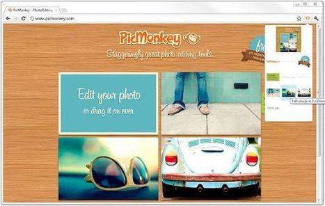 PicMonkey Extension, una práctica extensión en Chrome para el popular editor de imágenes online | EDUDIARI 2.0 DE jluisbloc | Scoop.it
