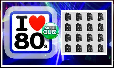 80's Music Quiz | 4 in a Row | QuizFortune | 50s-80s  Pop Music | Scoop.it