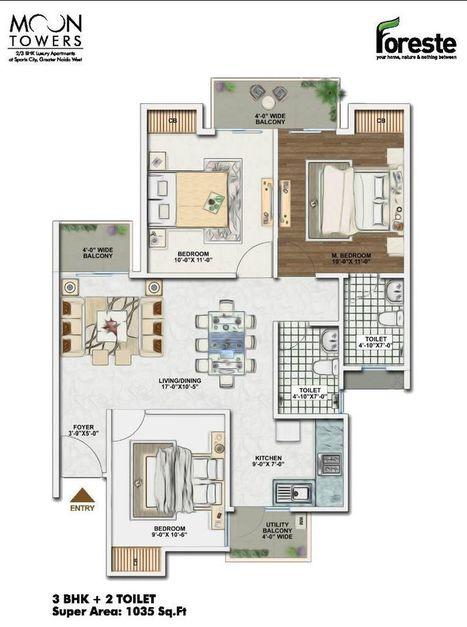 Aarcity Moon Towers, Price List, Aarcity Foreste Noida Extension   Real Estate   Scoop.it