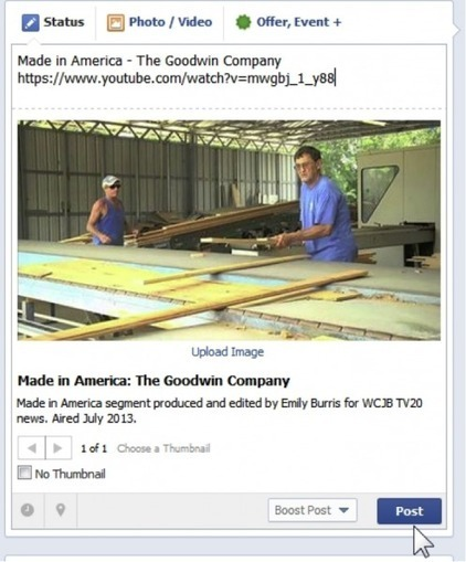 Boost Facebook Engagement: 5 Ways to Use Video on Facebook   MarketingHits   Scoop.it