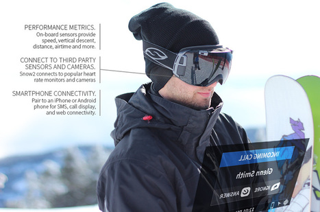 Ski goggle HUD is like Google Glass for the slopes - DVICE | Low Power Heads Up Display | Scoop.it