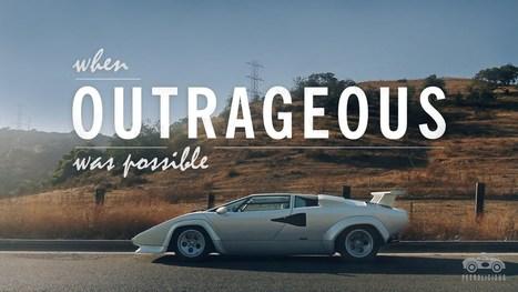 World's Only Amphibious Lamborghini Countach | Heron | Scoop.it